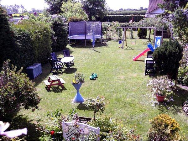 Unser großer Garten für alle Gäste