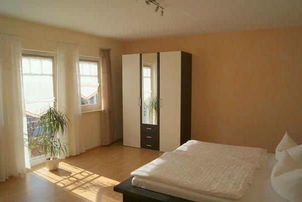 Schlafzimmer mit Blick über Sellin/auf den Selliner See