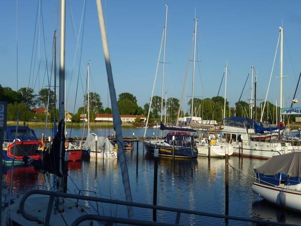 Hafen Kirchdorf auf Poel