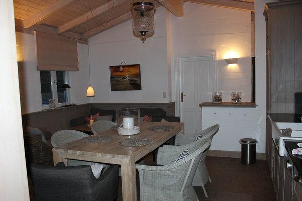 """Wohnbereich im Strandhaus """"Austern"""""""
