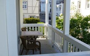 Balkon - Freiluftfrühstück