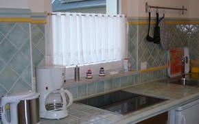 Küche - Mediterranes Ambiente mit allem Comfort