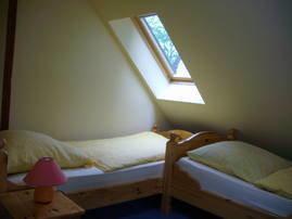 zweiter Schlafbereich im Dachgeschoss