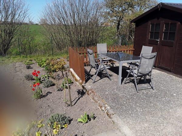 Gartenhaus mit Küche