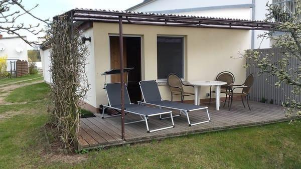 Gartenhaus für 2 Personen, winterfest mit Zentralheizung
