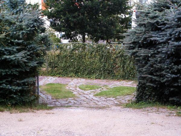 Urlauberparkplatz auf dem Grundstück