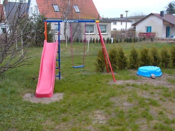 Spielplatz im Garten