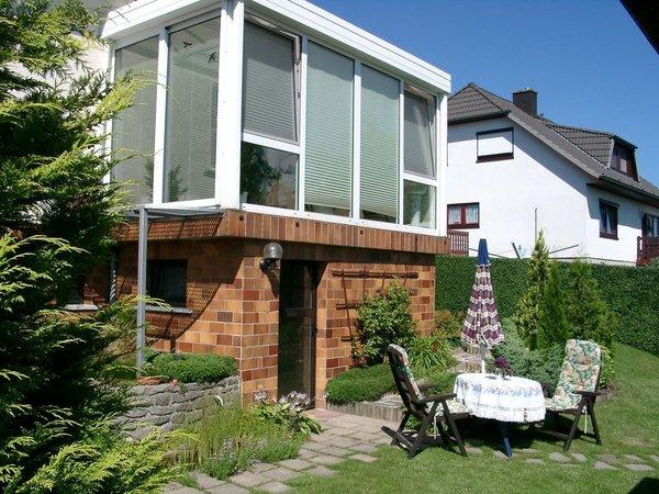 Beispiel gemütliches sitzen im Garten