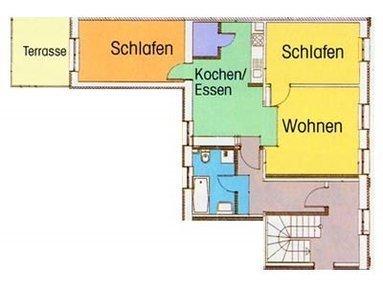 Wohnungsgrundriss Louise 4