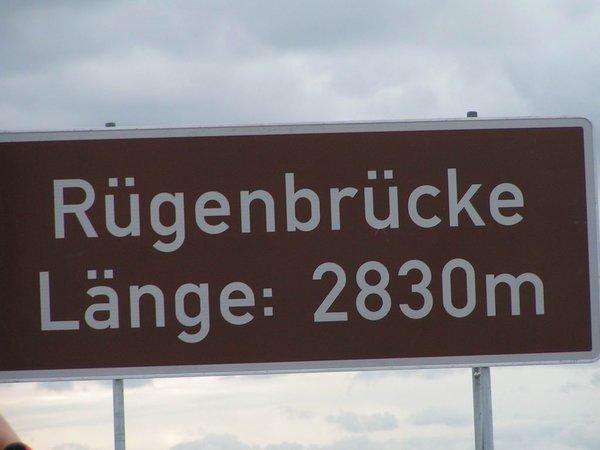 Von Stralsund zur Insel Rügen