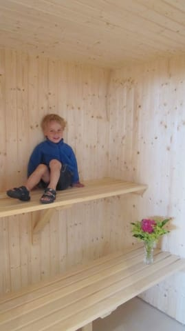OG Badezimmer, Sauna