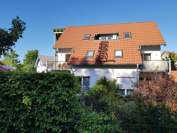 Ginsterweg 1d linker Balkon im 1.OG