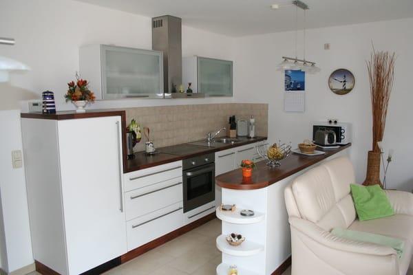 Wohnküche mit Tresen