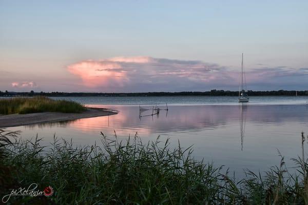 Abendimpression am Zickersee