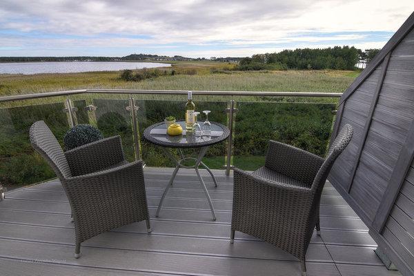 Von Ihrem Balkon aus, können Sie schon früh am Morgen die Sonne genießen