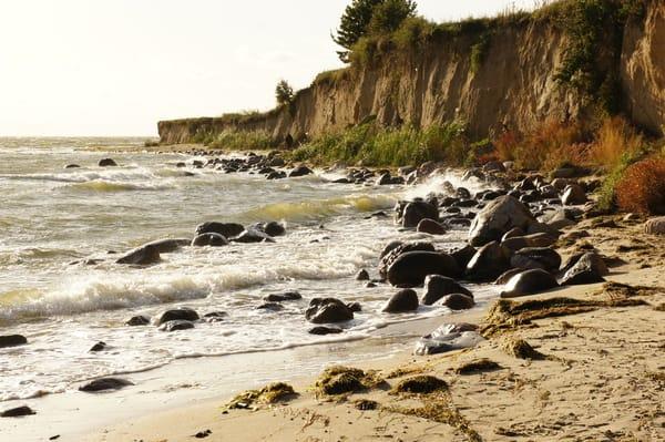 Die Steilküste von Klein Zicker