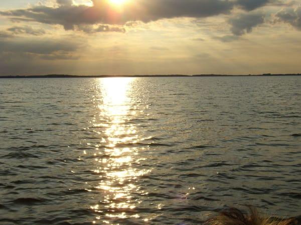 Achterwasser am Abend