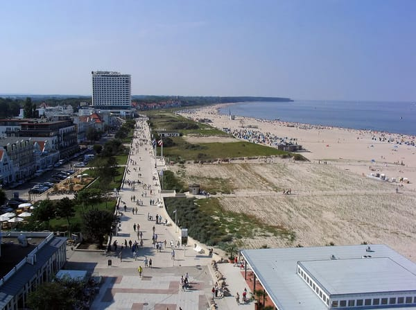 Lage in unmittelbarer Nähe der Strandpromenade