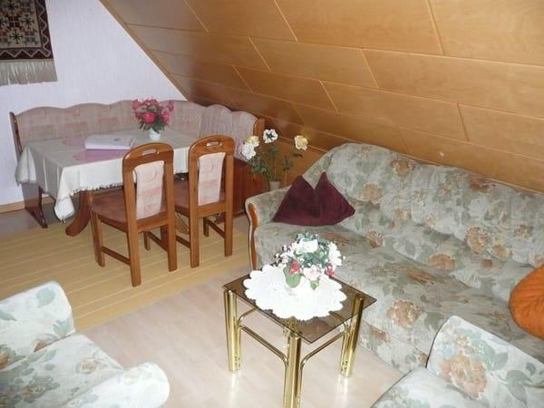 Essbereich im Wohnraum