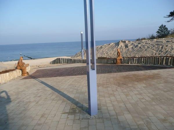 Strandzugang an der Promenade