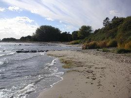 Strand nahe Südperd