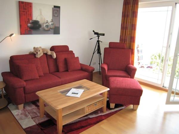 Couchbereich mal aus einer anderen Perspektive