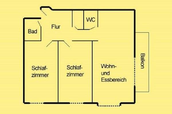 Grundriß (78 qm)