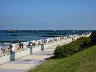 Strand und Seebrücke