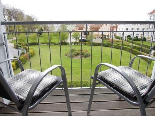 Aussicht Balkon - Richtung Süden