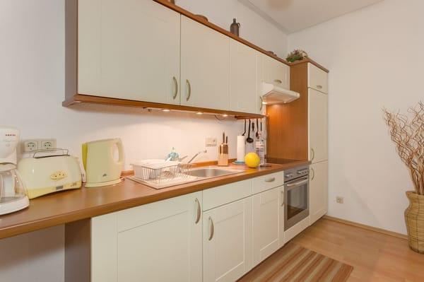 Eine Küche zum gemeinsamen Kochen