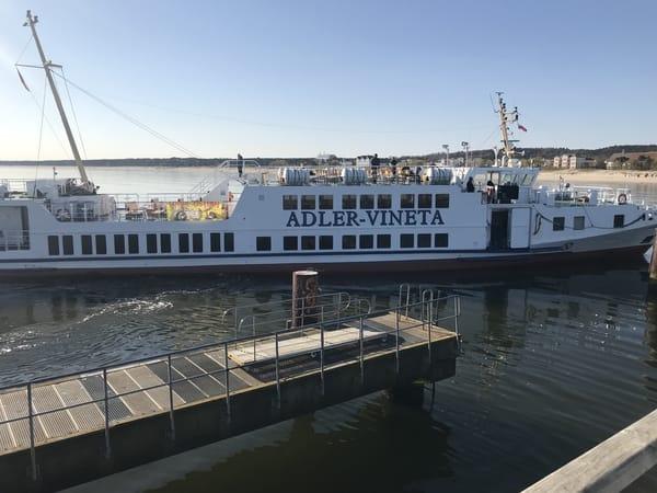 Schiffsrundfahrt zwischen den Kaisebädern