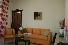 helles frisches Wohnzimmer