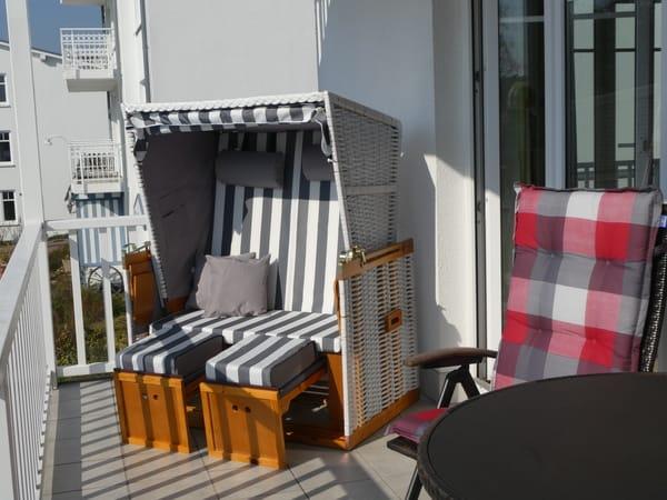 Tolle Fewo mit zwei sonnigen Balkonen