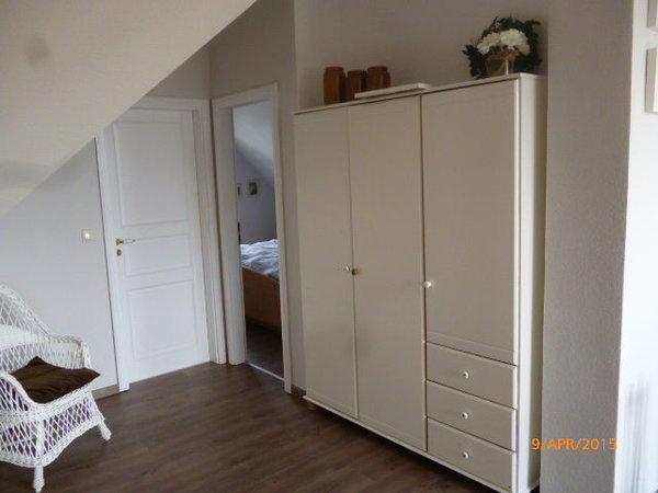 Bad und Schlafzimmer Zugang