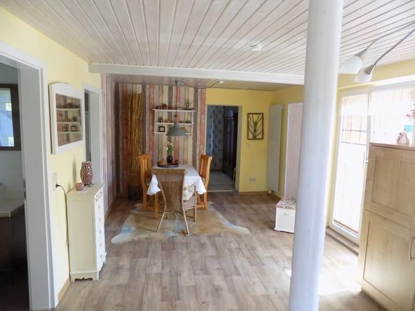 Der Essplatz in der Wohnküche
