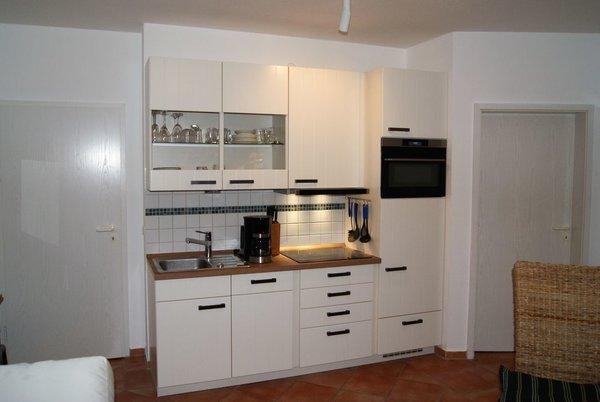 die neue Einbauküche mit Induktionskochfeld und allem weiteren Komfort