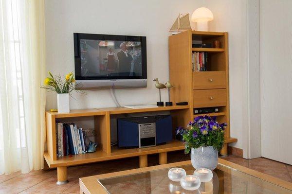 TV, Radio und Bücher