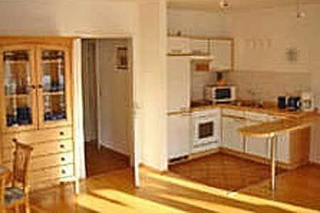 voll eingerichtete Küchenzeile