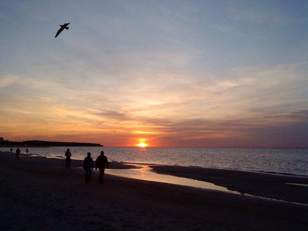 Der Strand von Rerik.