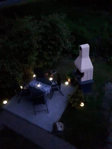 Sitzfläche am Abend