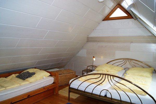 das Dachstudio mit drei komfortablen Schlafmöglichkeiten