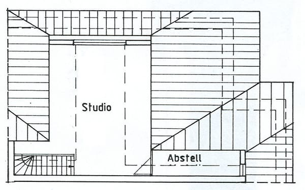 Grundriss  Dachstudio