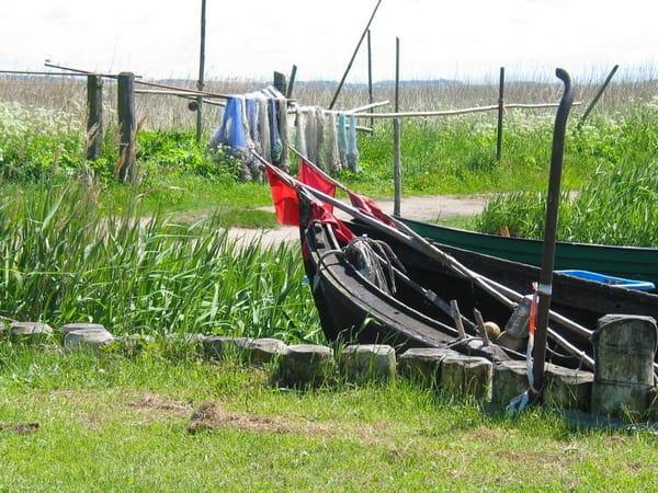 Anglerhafen am Achterwasser
