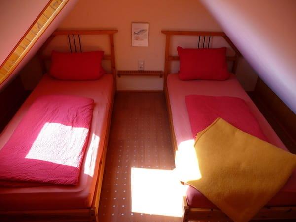 Schlafempore Dachgeschoss