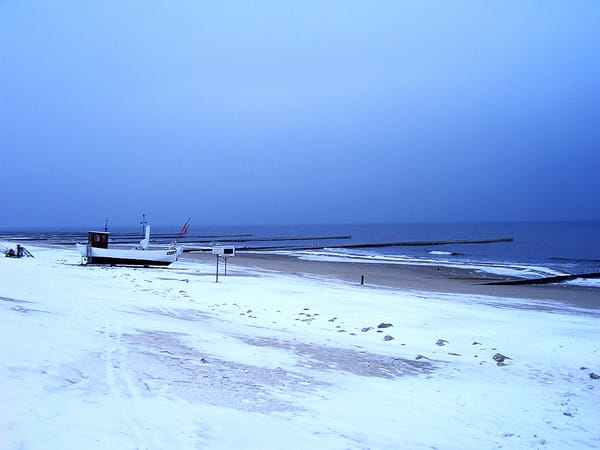 Koserower Strand im Winter