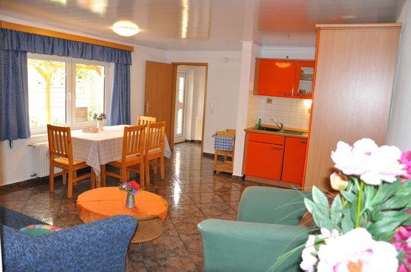 Küche im Erdgeschoss Wohnung 2