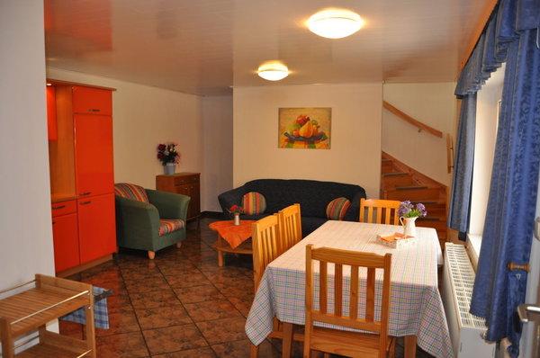 Wohnbereich in Küche Wohnung 2
