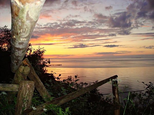 Mittsommernacht an der Ostsee