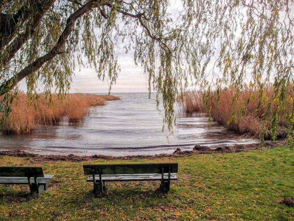 Der kleine Ort Gummlin auf Usedom