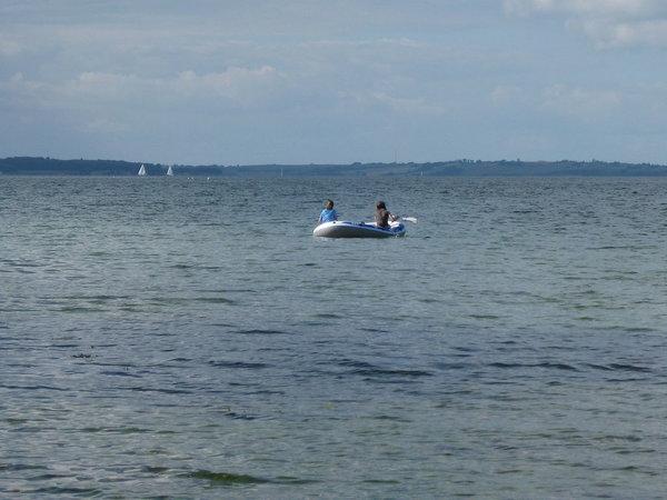Vergnügen mit dem Boot
